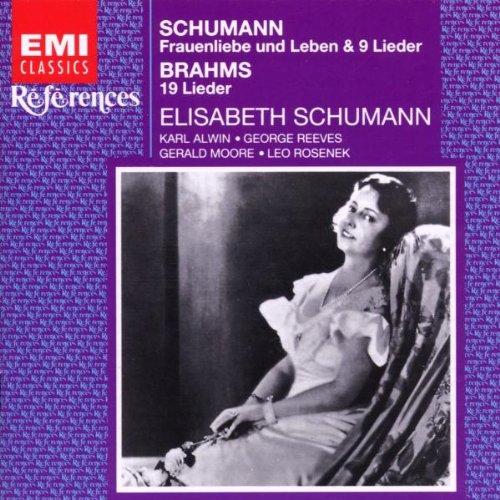 Elisabeth Schumann Sings Brahms and Schumann Lieder