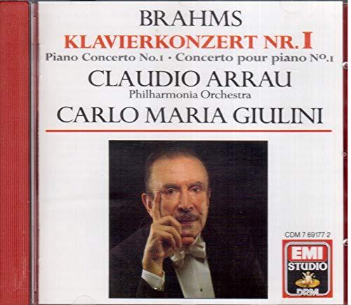 Claudio Arrau - Brahms Piano Concerto 1 By Claudio Arrau