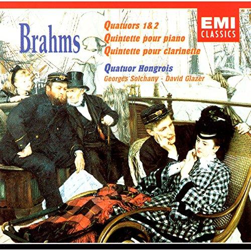 Johannes Brahms - Quintets/Glazer Solchany By Johannes Brahms