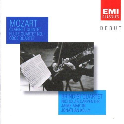 Brindisi Quartet - Mozart: Clarinet Quintet / Flute Quartet, No.1 / Oboe Quartet