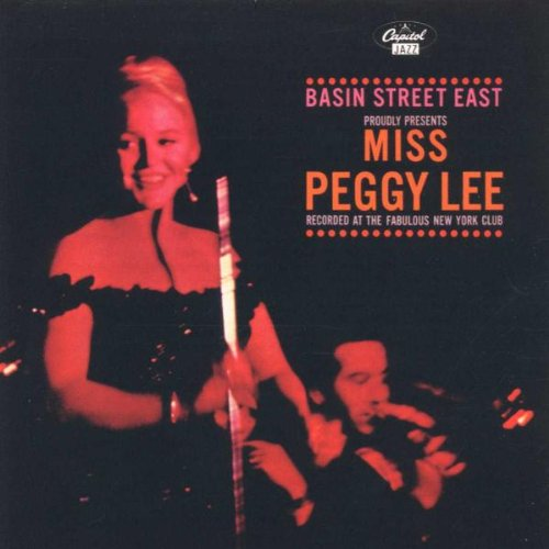 Lee, Peggy - Basin Street Proudly Present By Lee, Peggy