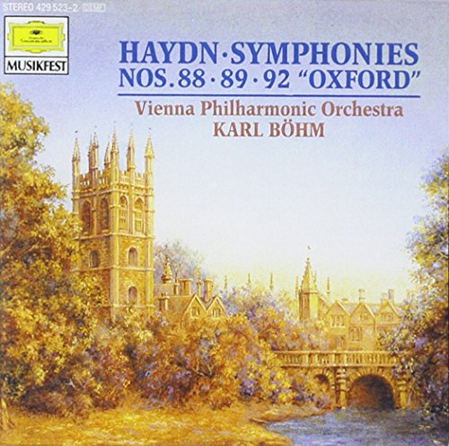 Bohm - Haydn: Symphony No 88; no.89, No 92
