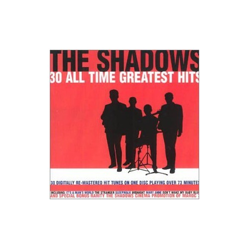 The Shadows - 30 All Time Greatest Hits By The Shadows