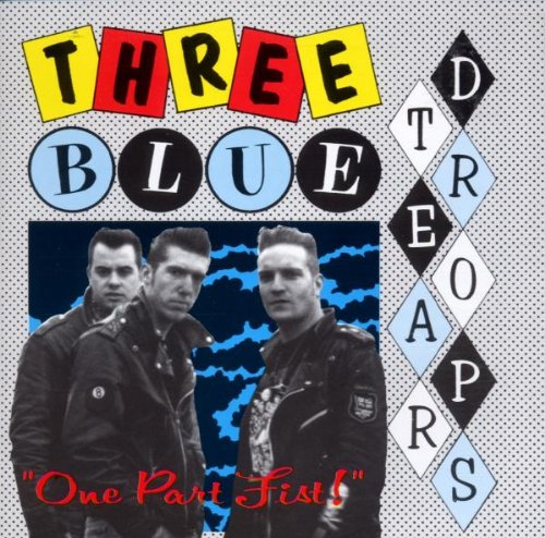 Three Blue Teardrops - One Part Fist
