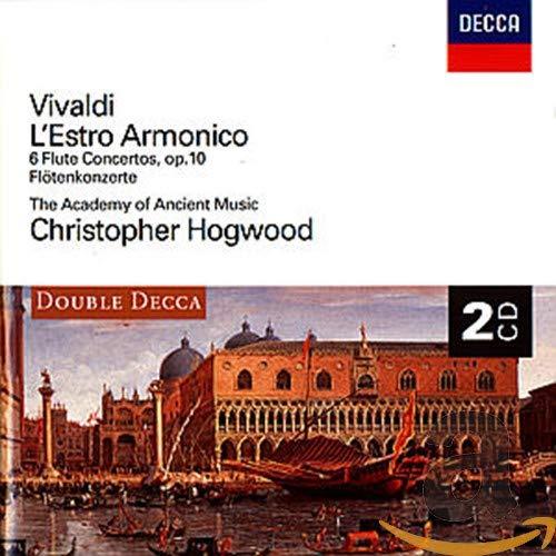 Christopher Hogwood - Vivaldi: L'Estro Armonico ; 6 Flute Concertos By Christopher Hogwood