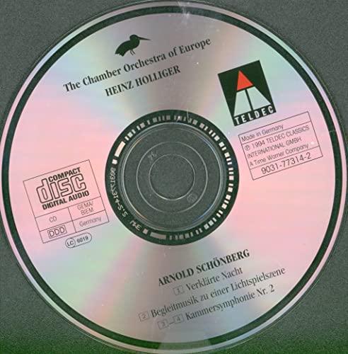 Schoenberg: Verkarte Nacht / Chamber Symphony, No. 2