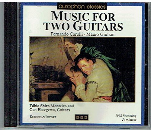 Gen Hasegewa - Music for Two Guitars: Fernando Carulli, Mauro Giuliani