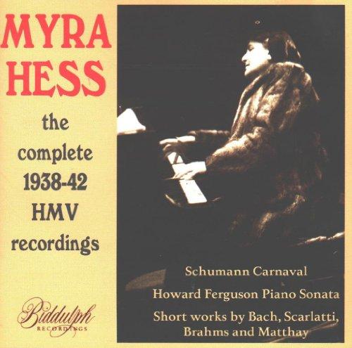 Myra Hess - The Complete 1938-1942 HMV Recordings