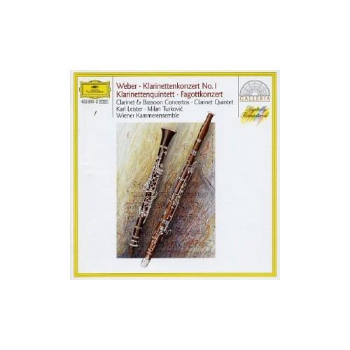 Weber: Clarinet and Bassoon Concertos, Clarinet Quintet