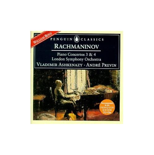 Lso/Ashkenazy/Previn - Rachmaninov/Piano Concertos Nos.3 & 4