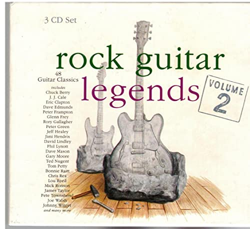 Various - Rock Guitar Legends Vol.2