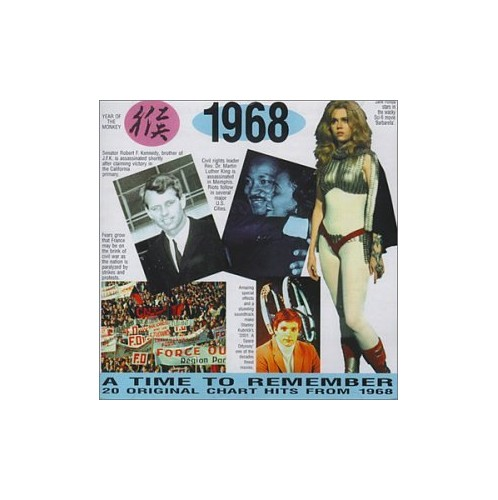 Various Artists - A Time to Remember 1968: 20 Original Chart Hits