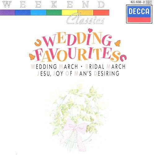 Wagner - Wedding Favourites: Wedding March, Bridal March, Jesu, Joy Of Man's Desiring etc