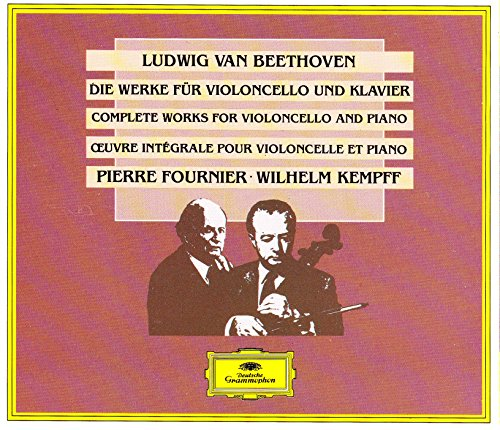 Ludwig Van Beethoven: Complete Works For Violoncello And Piano