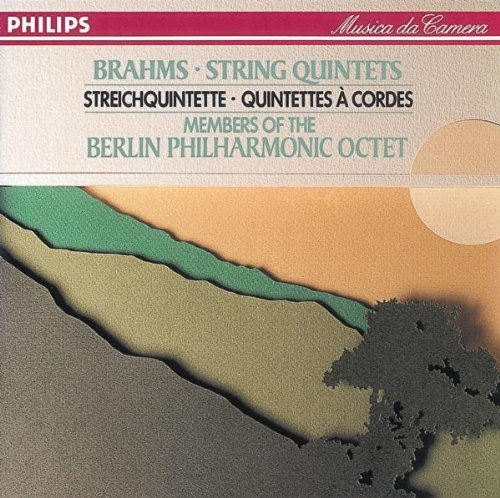 Members of the Berlin Philharmonic Octet - Brahms: String Quintets no. 1 op. 88 & no. 2 op. 111
