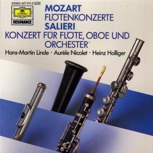 Aurele Nicolet - Mozart: Flute Concertos &  Saleri: Concerto for Flute and Oboe  (Nicolet)