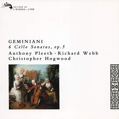 Richard Webb - 6 Cello Sonatas Op.5