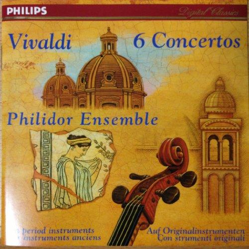 Philidor Ensemble - 6 Concertos By Philidor Ensemble