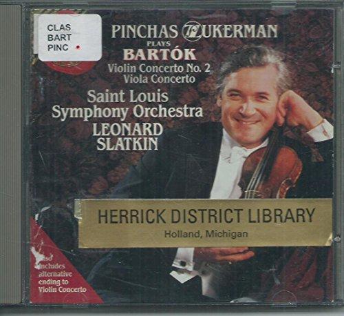 Slatkin - Bartok:Violin Cto. 2