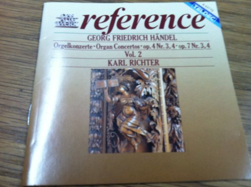 Richter - Handel:Organ Ctos. Vol. 2 By Richter