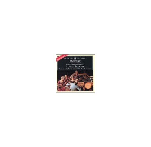 Wolfgang Amadeus Mozart - Piano Concertos Nos. 21 & 23 (Brendel, Asmif, Marriner)
