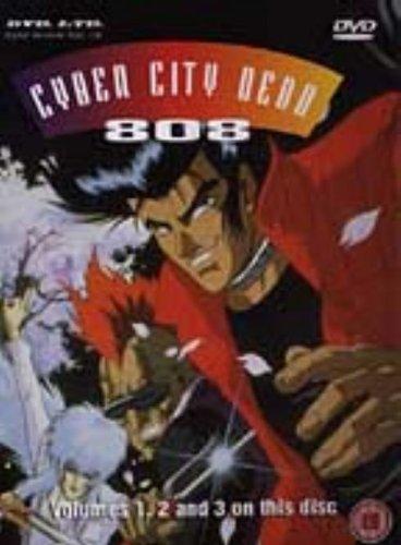 Cyber City Oedo 808: Files 1-3