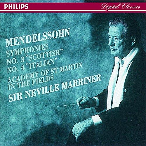 Felix Mendelssohn - Symphonies 3 & 4 (Asmif/Marriner)