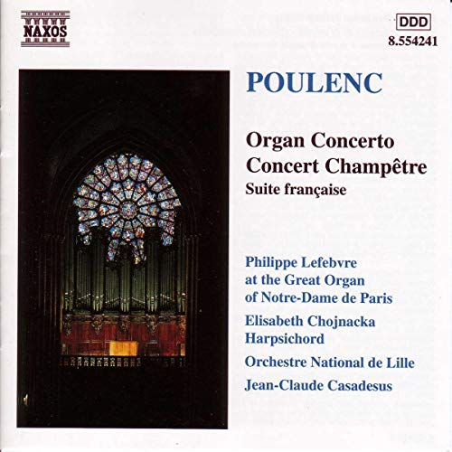 Poulenc: Concerto for organ & strings in Gm