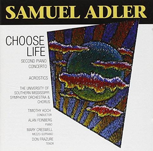 Adler: Acrostics/Piano Concerto o.2/Choose Life