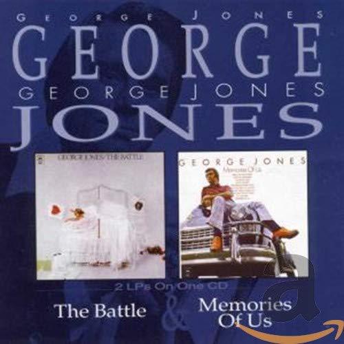 George Jones - The Battle/Memories of Us By George Jones