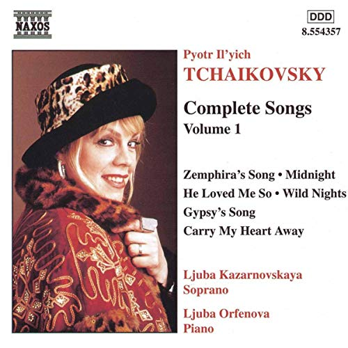 Tchaikovsky Complete Songs 1