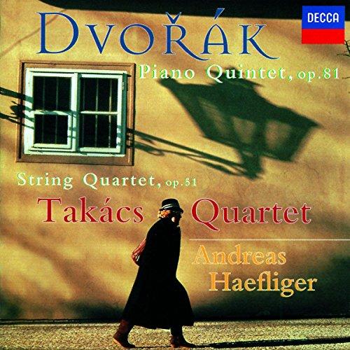 Takacs Quartet - Dvorak: Piano Quintet Op.81 / String Quartet Op.51 By Takacs Quartet