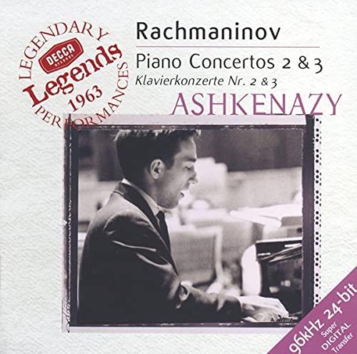 Vladimir Ashkenazy - Rachmaninov: Piano Concertos 2, 3