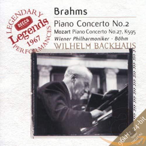 Wilhelm Backhaus - Brahms: Piano Concerto No. 2, Mozart Piano Concerto No. 27 By Wilhelm Backhaus