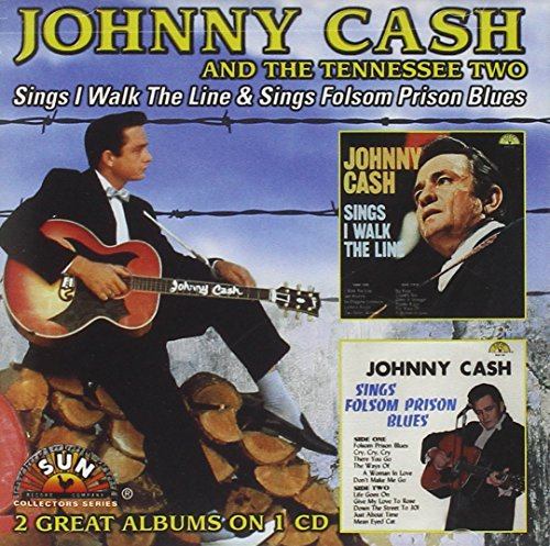 Johnny Cash - Sings I Walk the Line/Sings Folsom Prison Blues By Johnny Cash