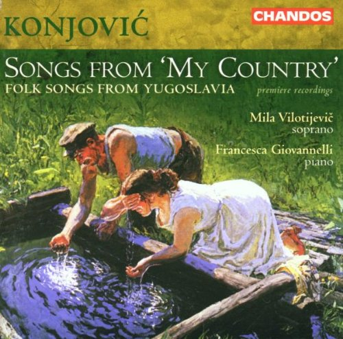 Konjovic - Konjovic - Songs from My Country By Konjovic