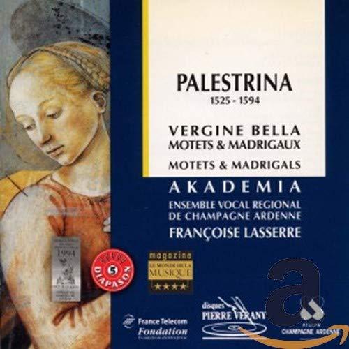 Giovanni Pierluigi Da Palestrina - Motets and Madrigals (Lassere, Ensemble Vocale Akademia)