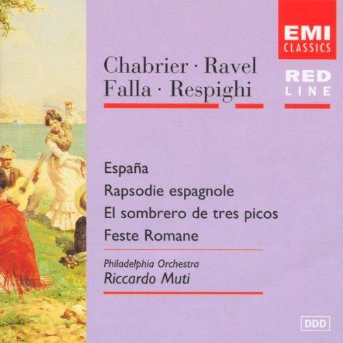 Ravel: Rapsodie/Chabrier: España