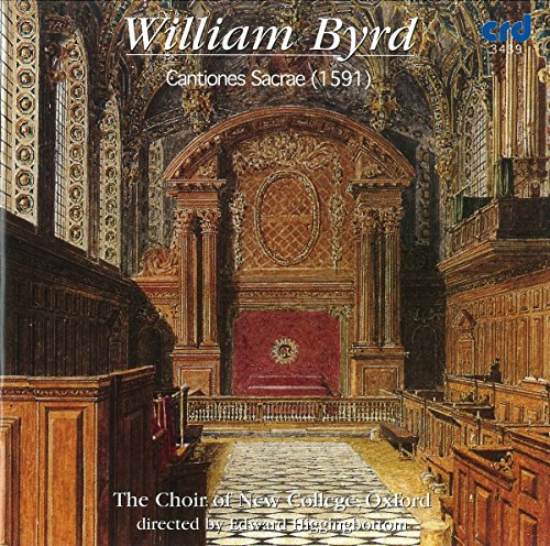 The Choir of New College Oxford - Byrd Cantiones Sacrae 1591