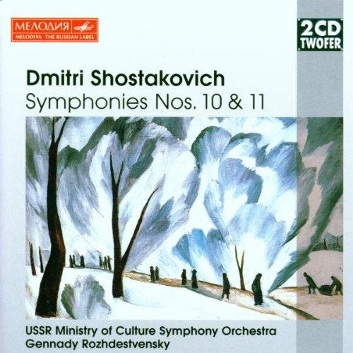 USSR Ministry - Shostakovich:Syms No10-11