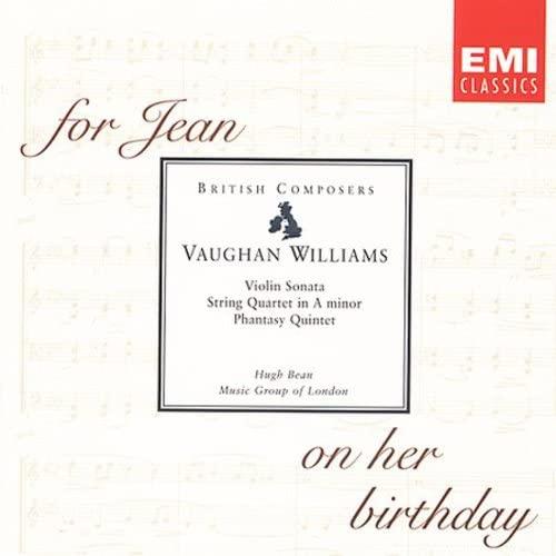 Ralph Vaughan Williams - Violin Sonata etc (Music Group of London)