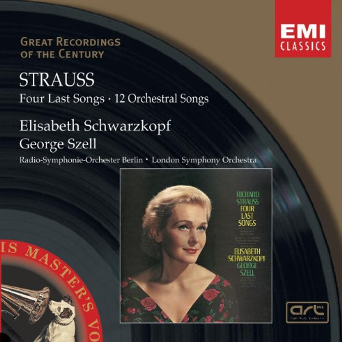 Strauss - Four Last Songs 12 Orchestral Songs
