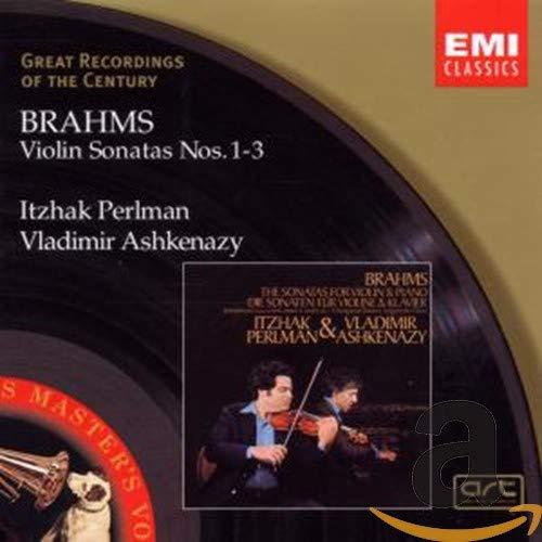 Vladimir Ashkenazy - Brahms: Violin Sonatas Nos.1-3