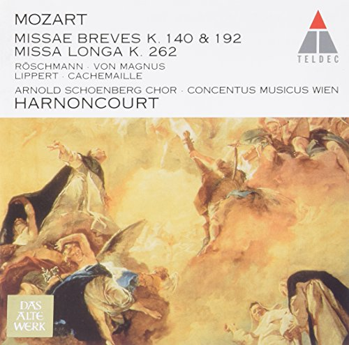 Nikolaus Harnoncourt And Concentus Musicus Wien - Mozart: Sacred Works Ii By Nikolaus Harnoncourt And Concentus Musicus Wien