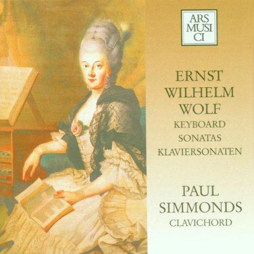 Paul Simmons - Wolf:Keyboard Sonatas