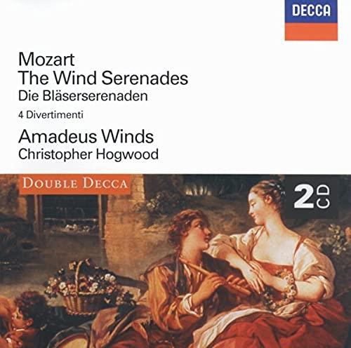Christopher Hogwood - Mozart: The Wind Serenades By Christopher Hogwood