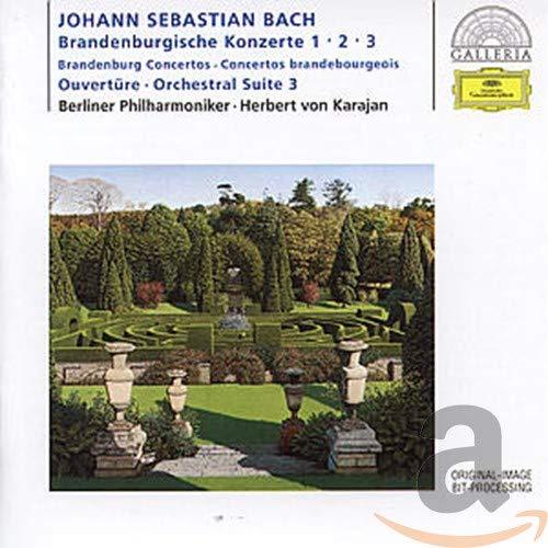 BACH J.S. - Bach, J.S.: Brandenburg Concertos Nos.1-3; Overture No.3