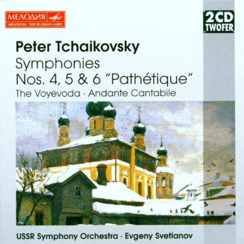 Tchaikovsky - Symphonies 4-6