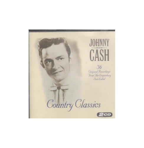 Details about Johnny Cash - COUNTRY CLASSICS CD UK HALLMARK 1995 - Johnny  Cash CD 04VG The