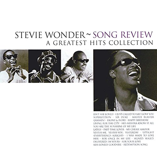 Stevie Wonder - Song Review: A Greatest Hits Collection By Stevie Wonder